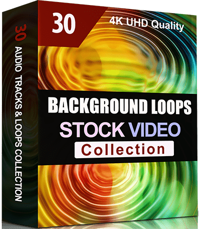 30-Background Loops Stock Video Collection