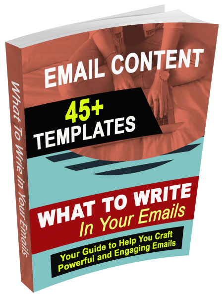 What to Write-45+Email Content Templates