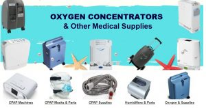 Oxygen Concentrators, Face Masks & Other ICU Corona Virus Fighting Supplies